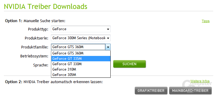GeForce 300M Series