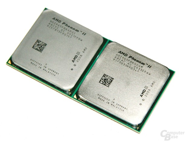 AMD Phenom II X4 965 in zwei Versionen