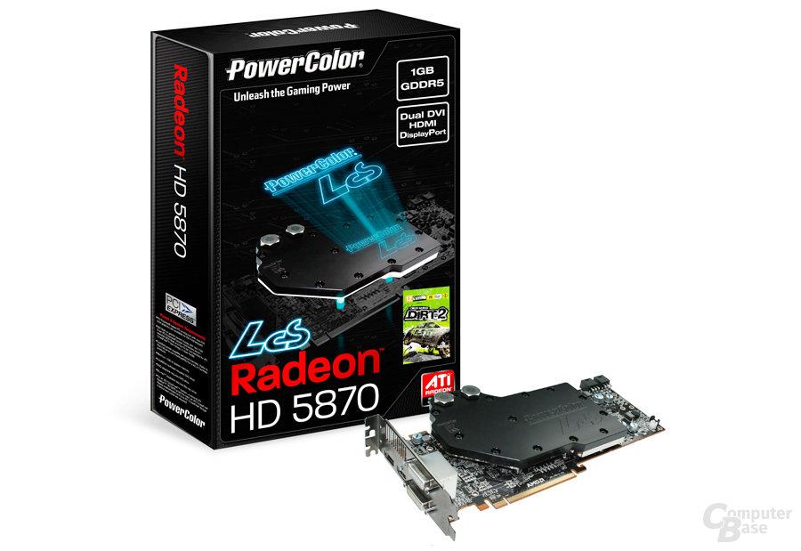 PowerColor Liquid Cooling Solution (LCS) HD5870 1GB GDDR5