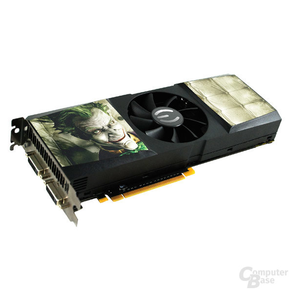 EVGA GeForce GTX 275 CO-OP PhysX Edition