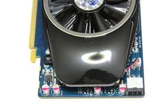 Radeon HD 5750 von oben