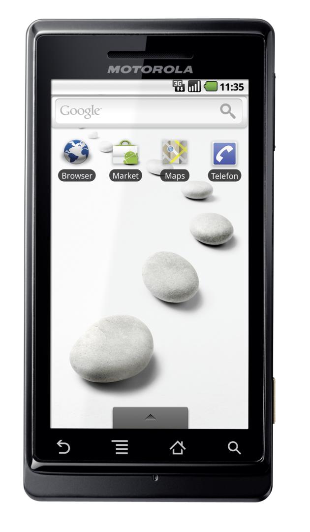Motorola Milestone (geschlossen)