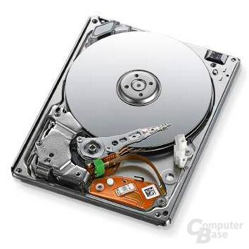 Toshibas 1,8 Zoll große 320-GB-HDD MK3233GSG