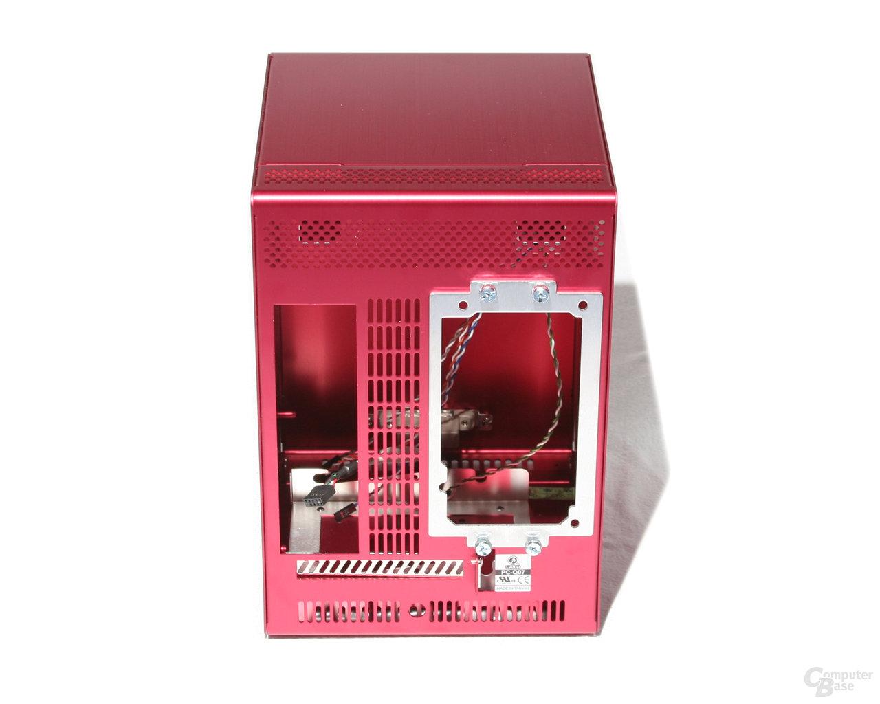 Lian Li PC-Q07 – Rückseite