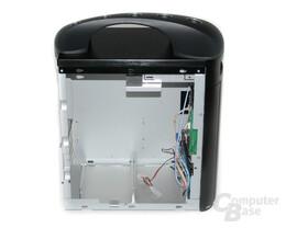 Silverstone SG04B-FH Sugo – Innenraum ohne Laufwerkhalter