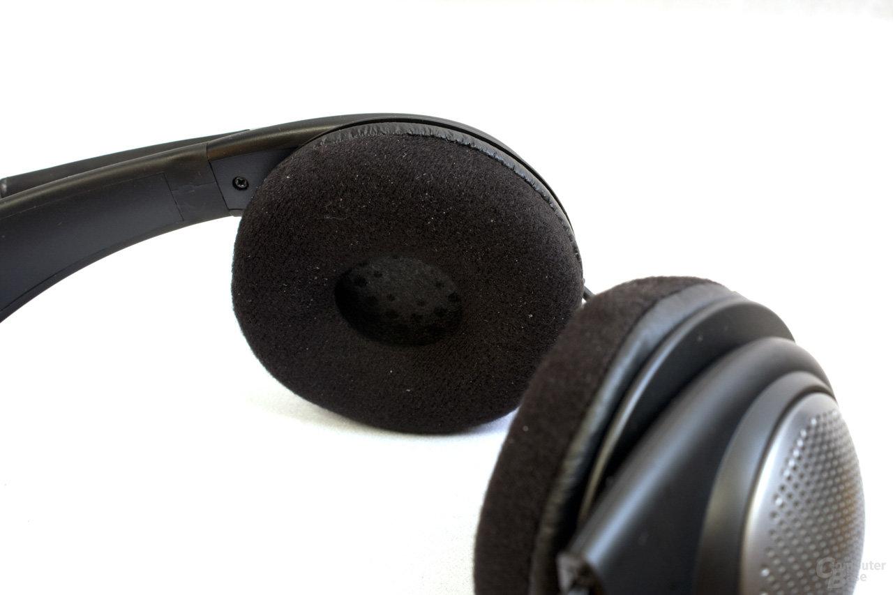 Ohrmuscheln umschließen Ohren nicht