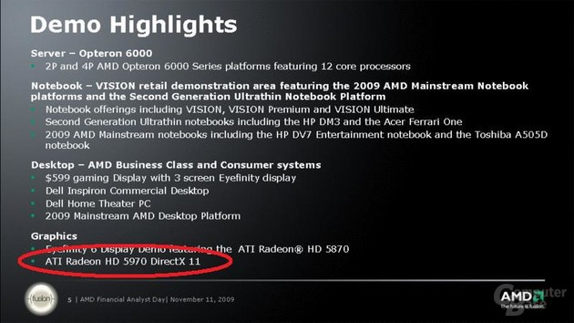 ATi Radeon HD 5970 von AMD bestätigt