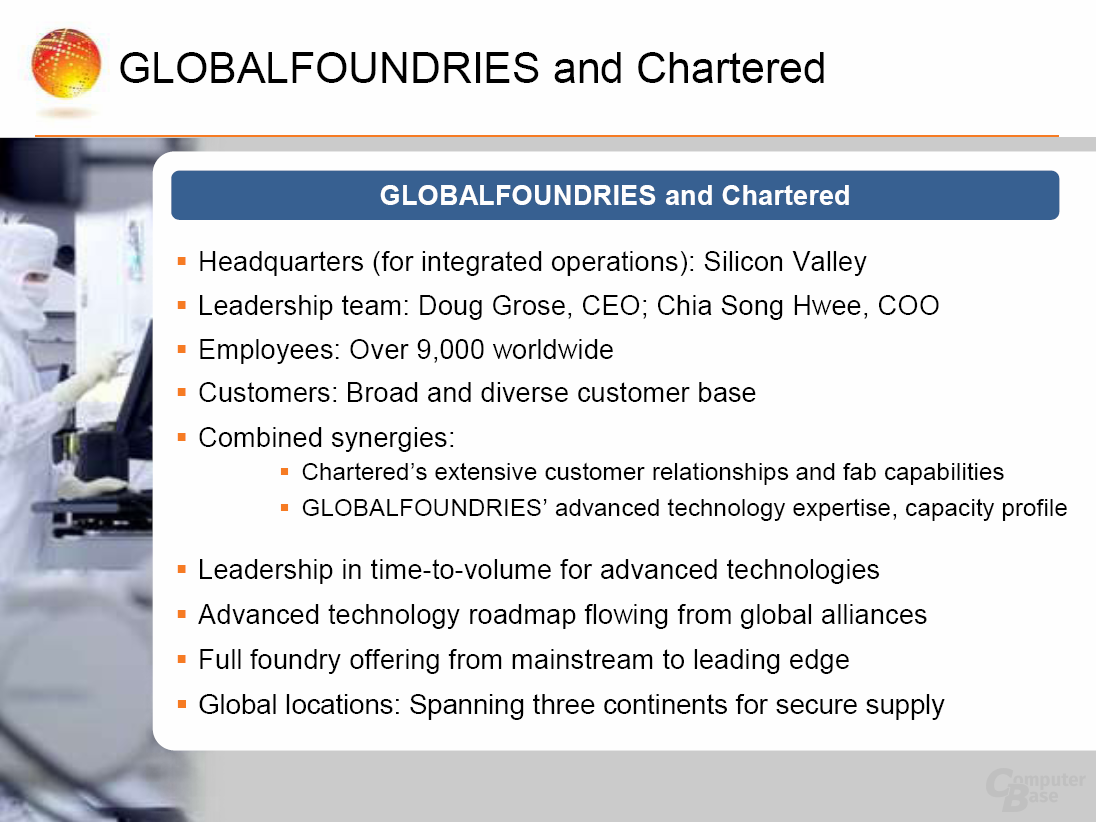 Globalfoundries-Präsentation