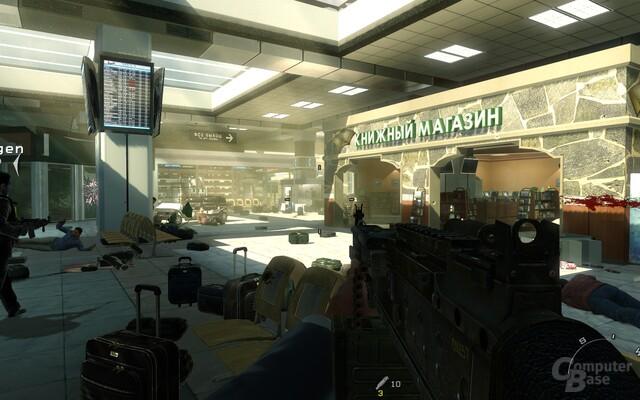 Flughafenmassaker: Plottechnisch unnötig, inhaltlich fragwürdig