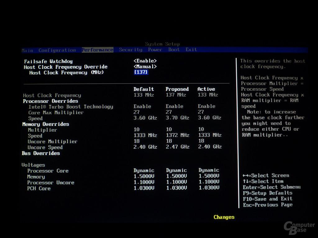 Intel DP55KG BIOS