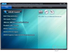 Asus P7P55D Software