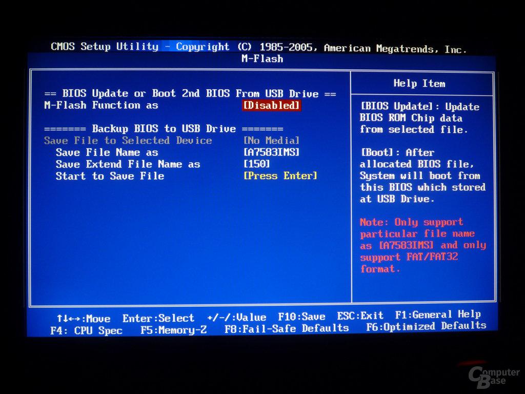 MSI P55-GD65 BIOS