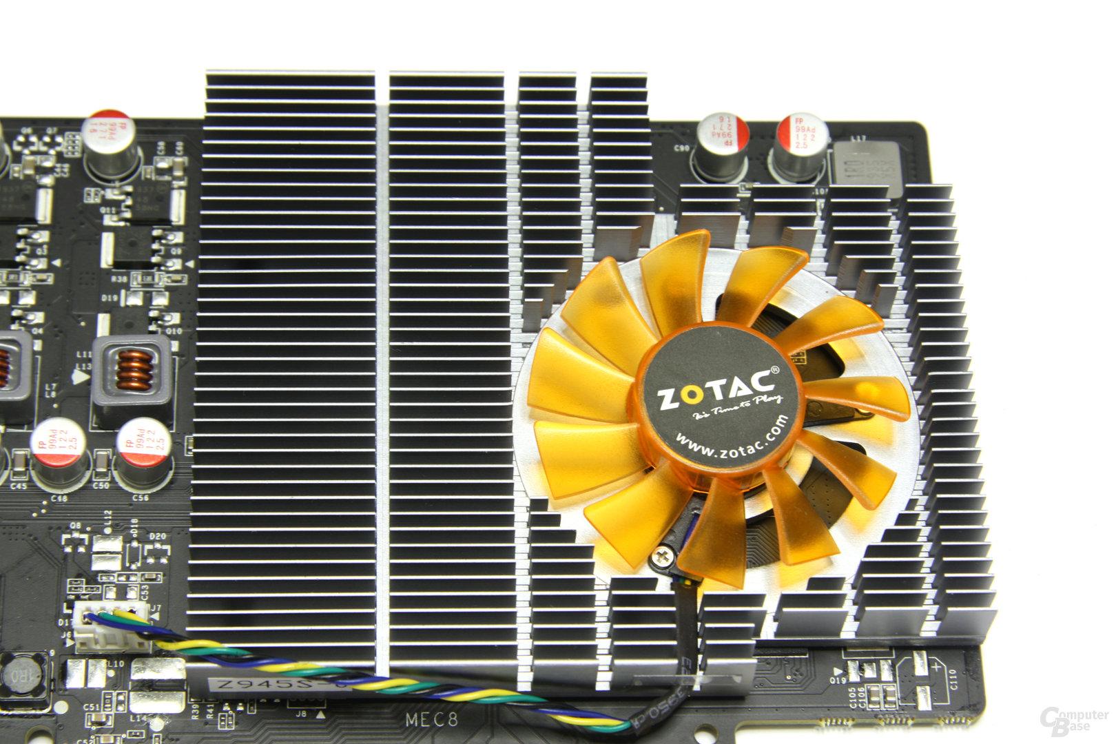 GeForce GT 240 Kühlkörper