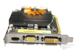 GeForce GT 240 Slotblech