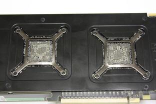 Radeon HD 5970 Rückseite GPUs