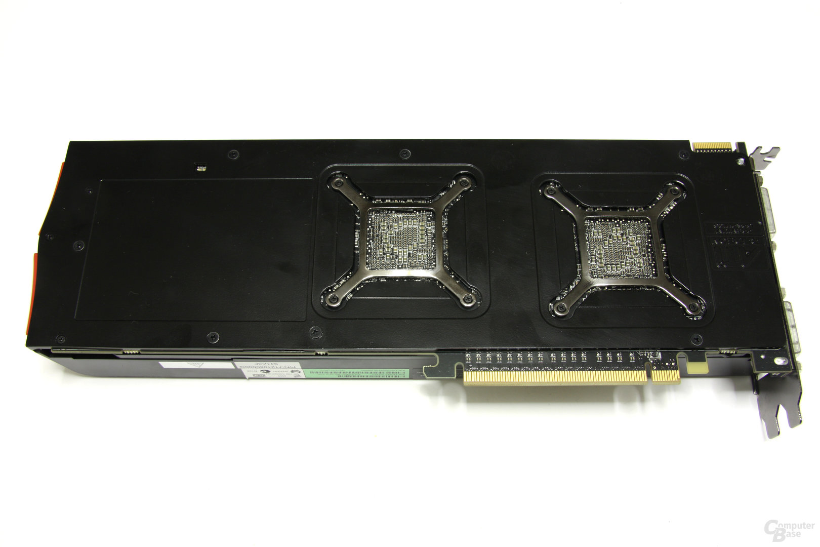Radeon HD 5970 Rückseite