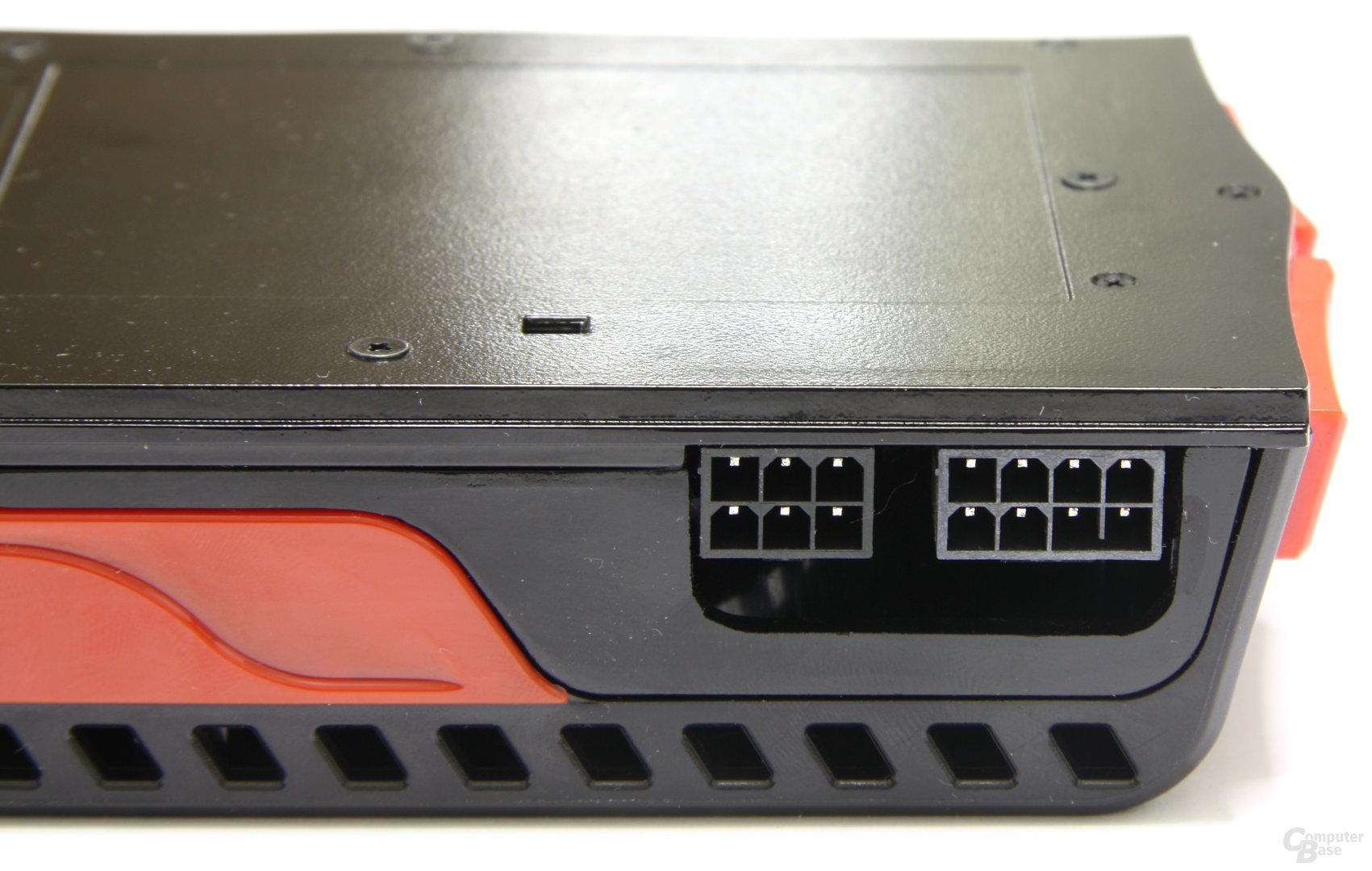 Radeon HD 5970 Stromanschlüsse