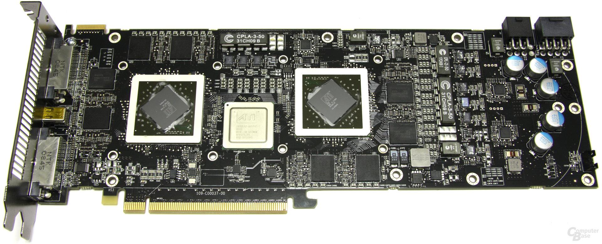 Radeon HD 5970 ohne Kühler