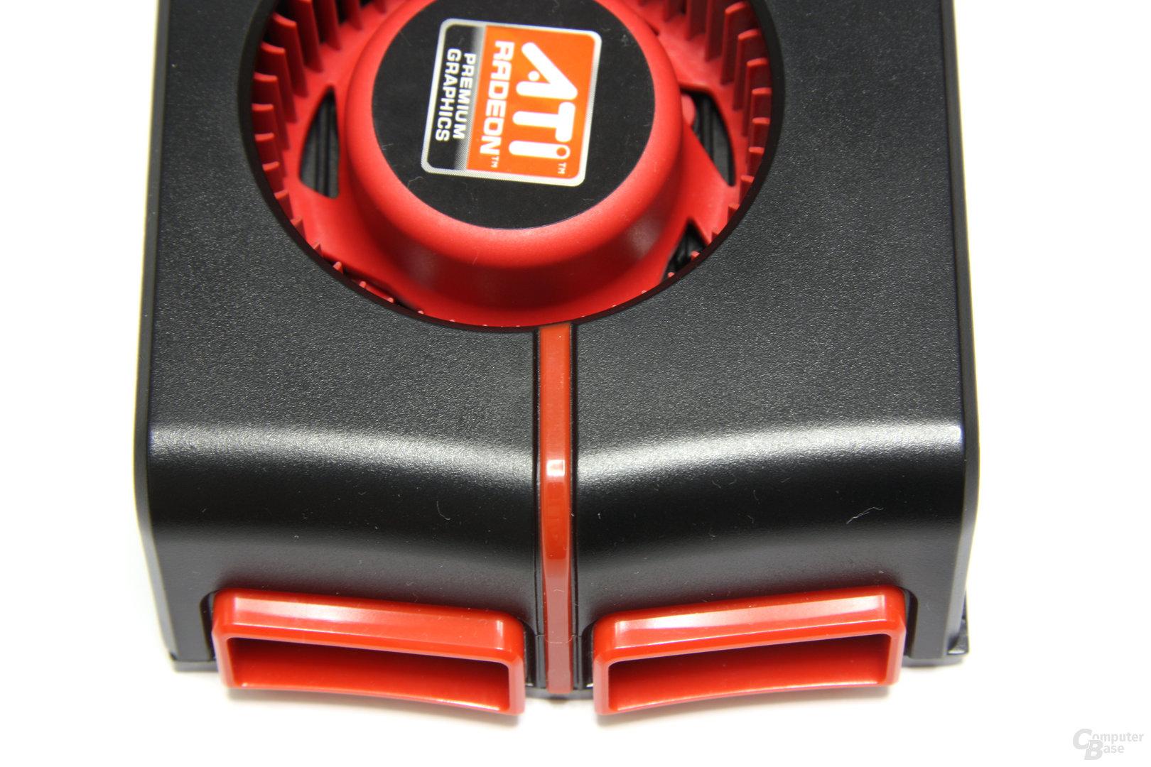 Radeon HD 5970 von oben