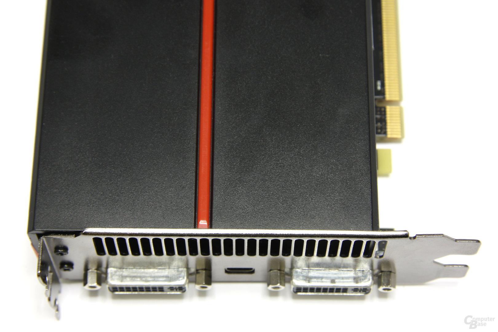 Radeon HD 5970 Anschlüsse