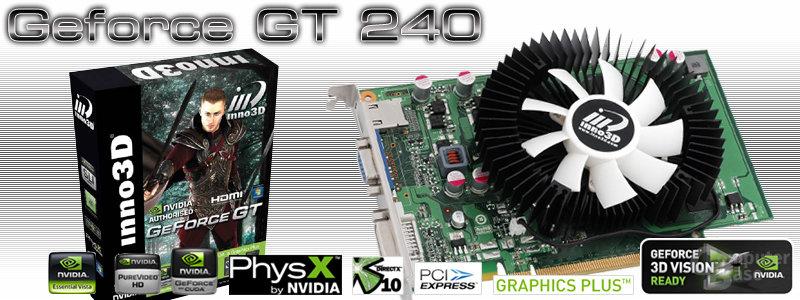 Inno GeForce GT 240