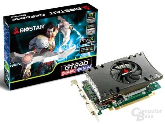 Biostar GeForce GT 240