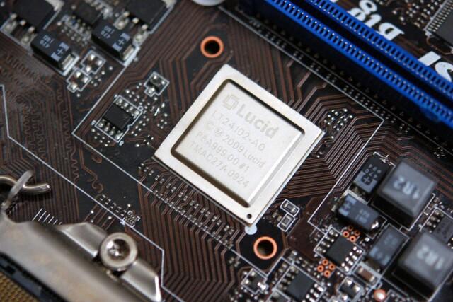 Lucids Hydra-Chip auf MSI Fuzion