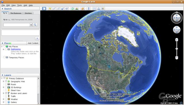 Google Earth Ubuntu Linux