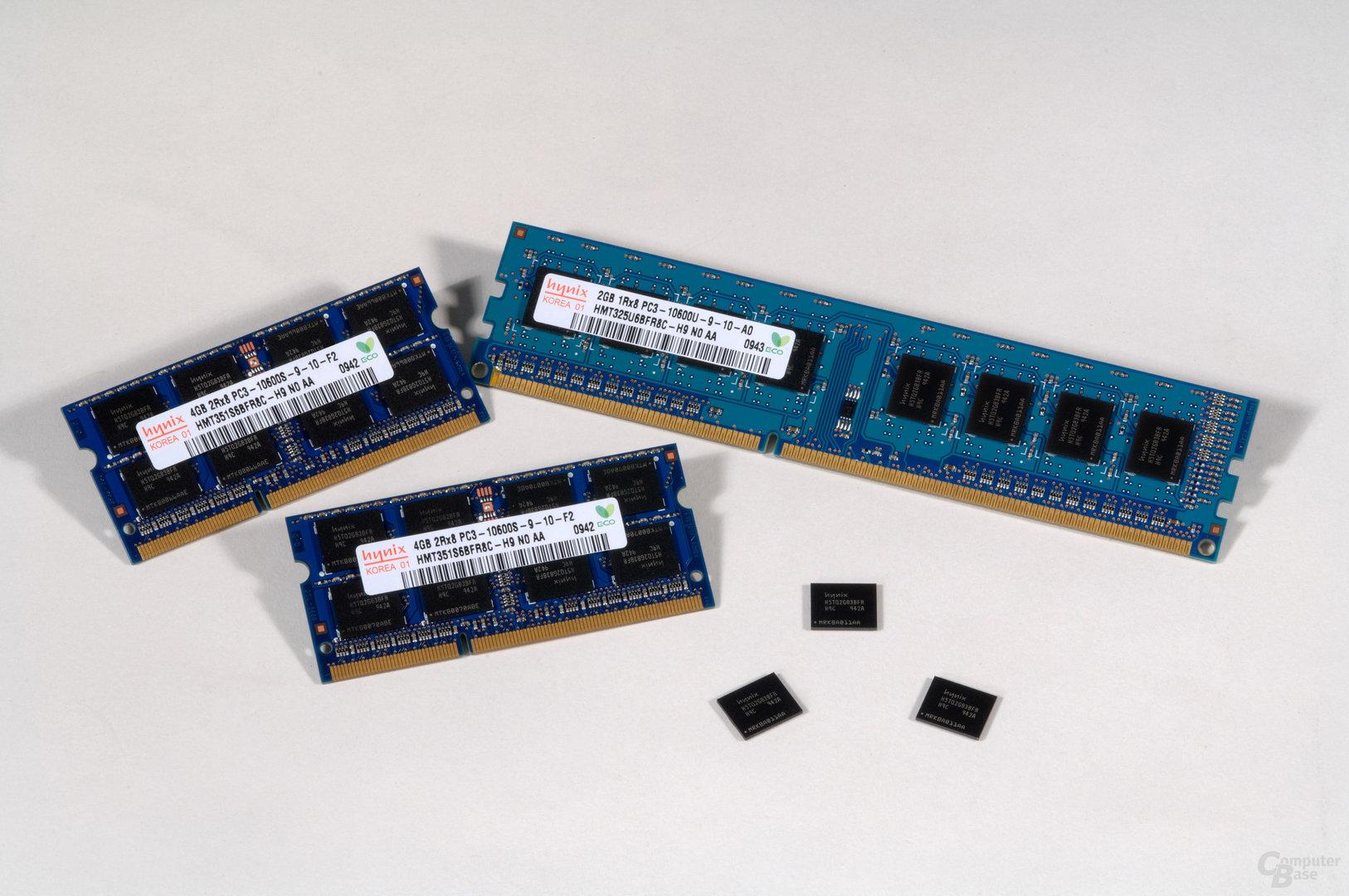 Neuer Hynix-Speicher in 40 nm