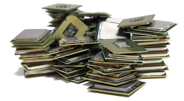 Ein Haufen Prozessoren ...