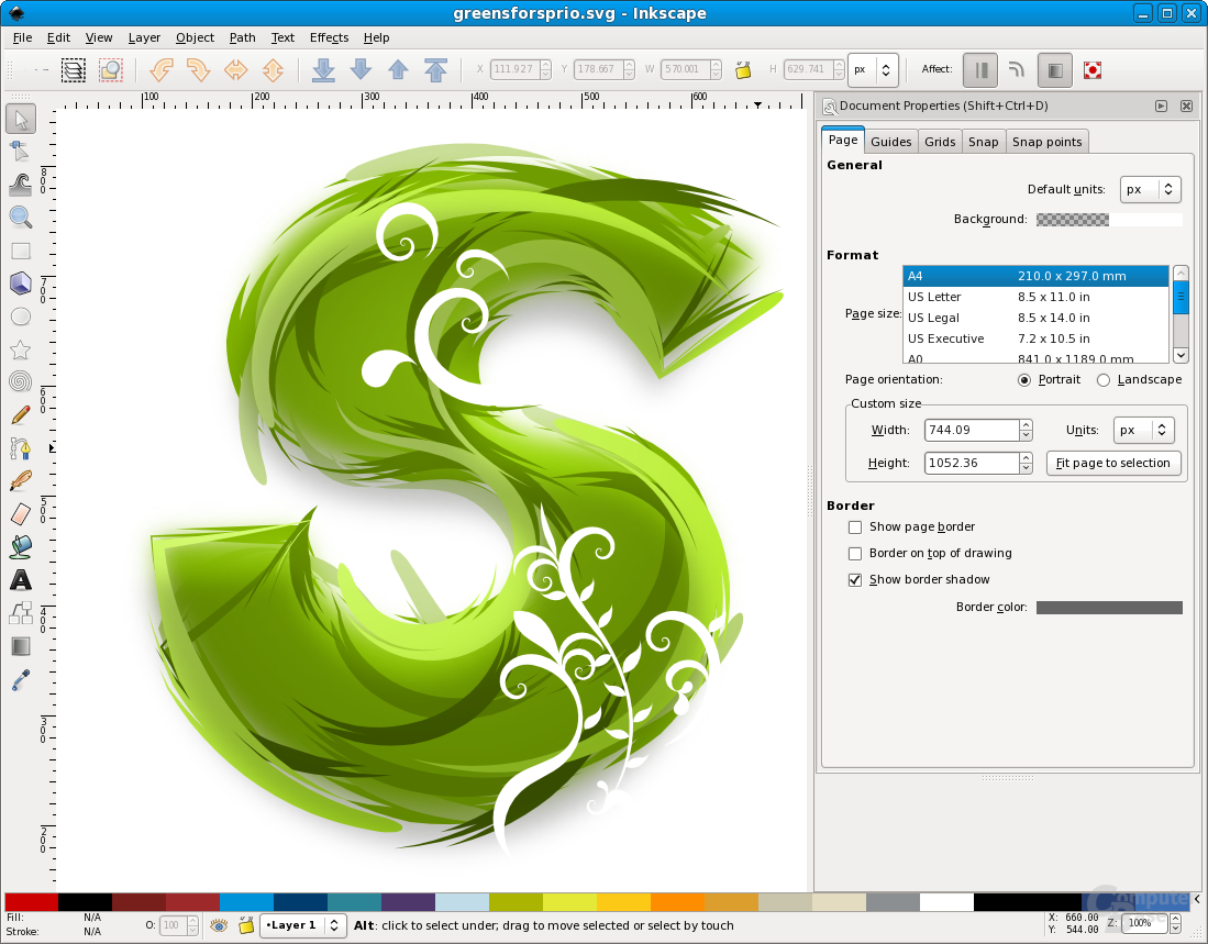 Inkscape now features Spiro curves