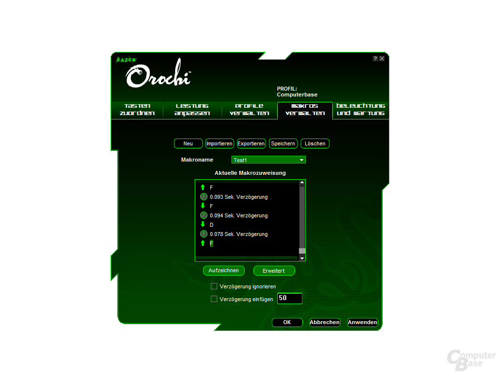 Razer Orochi Software