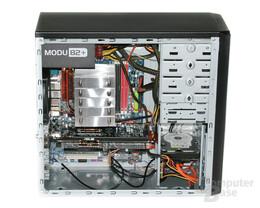 Cooler Master Elite 310 – Innenraum mit Hardware