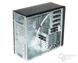 Cooltek CT-K4 – Innenraum vorn