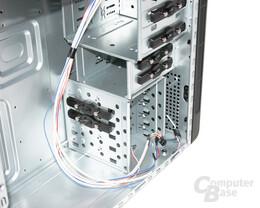 Cooltek CT-K4 – Laufwerkschächte