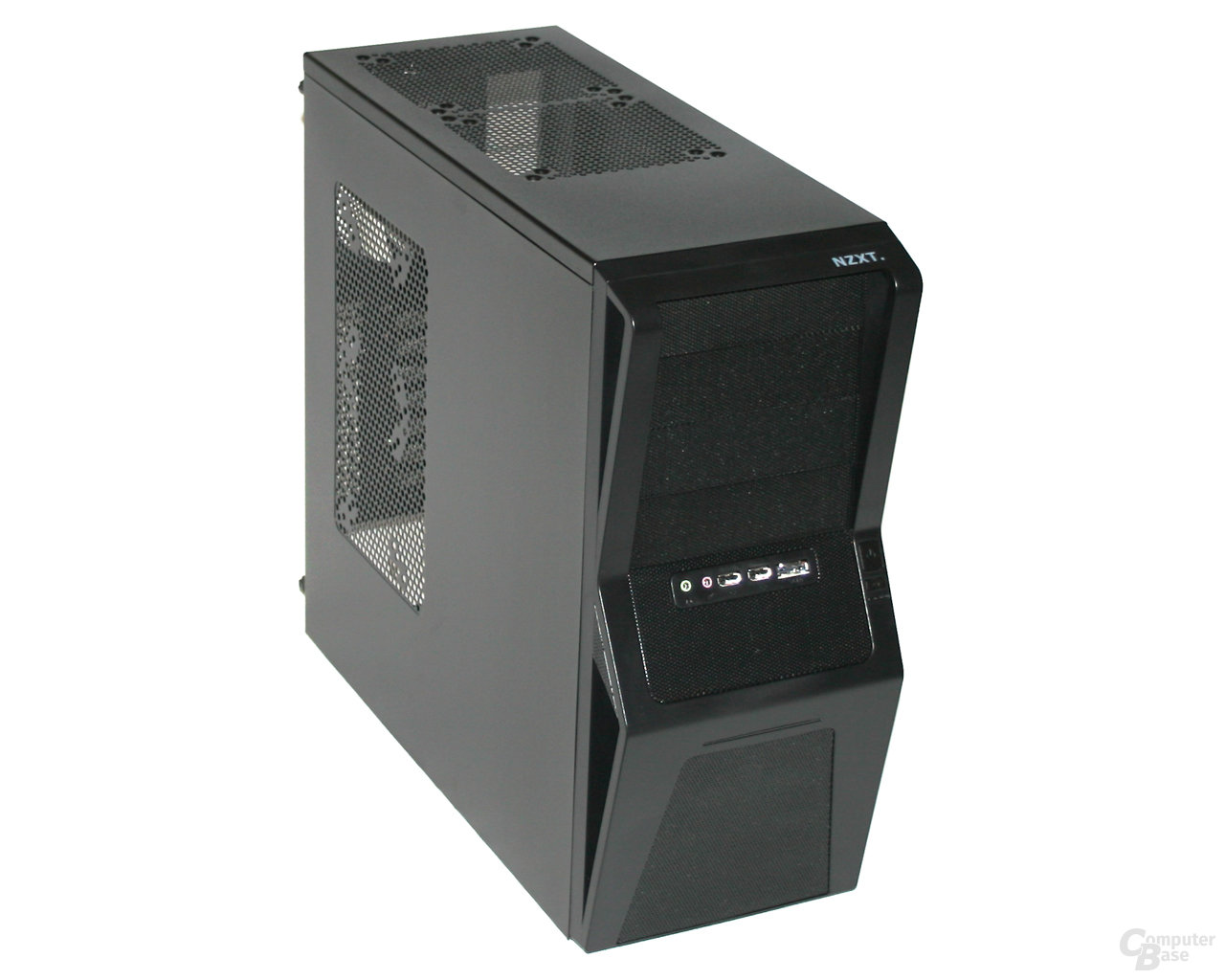 NZXT Gamma – Front Seite links