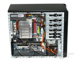 Cooltek CT-K4 – Innenraum mit Hardware