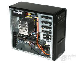 Cooltek CT-K4 – Innenraum hinten