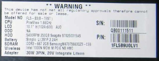 Lenovo Ideapad mit Pineview-Prozessor