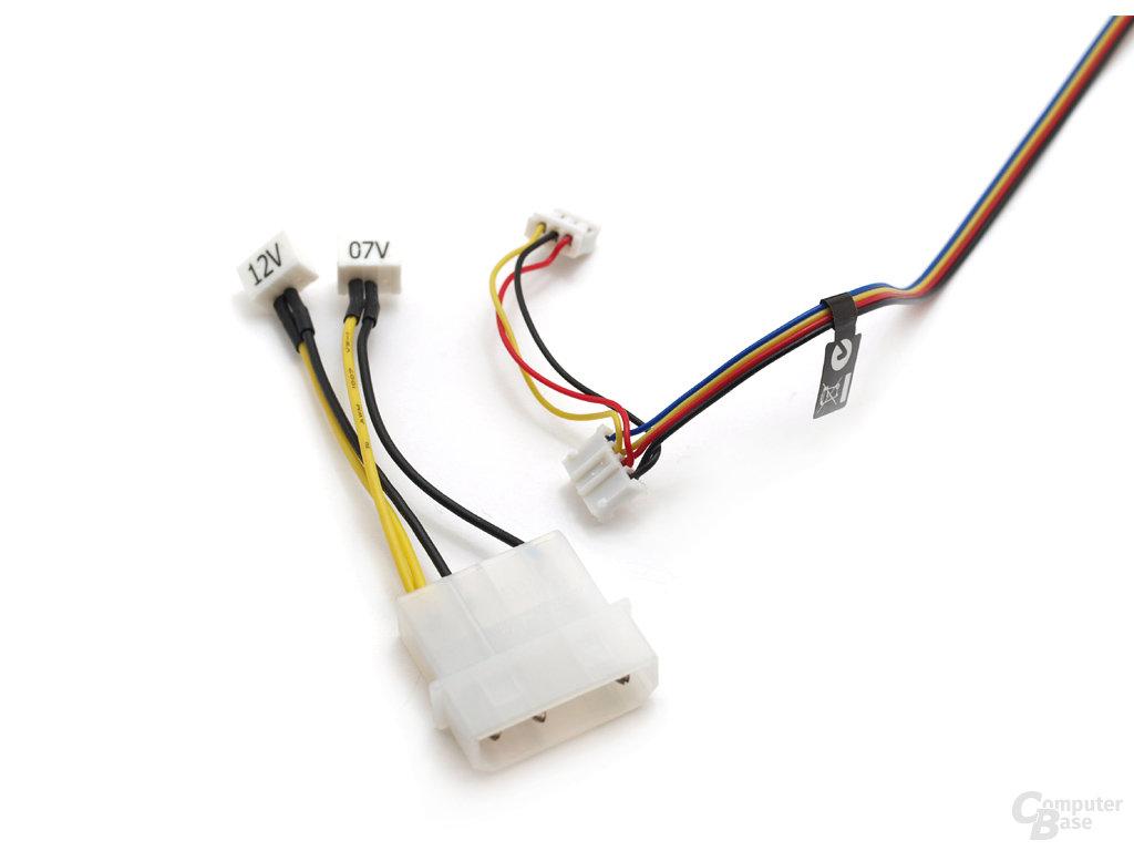 Spannungsadapter und Stromanschlüsse