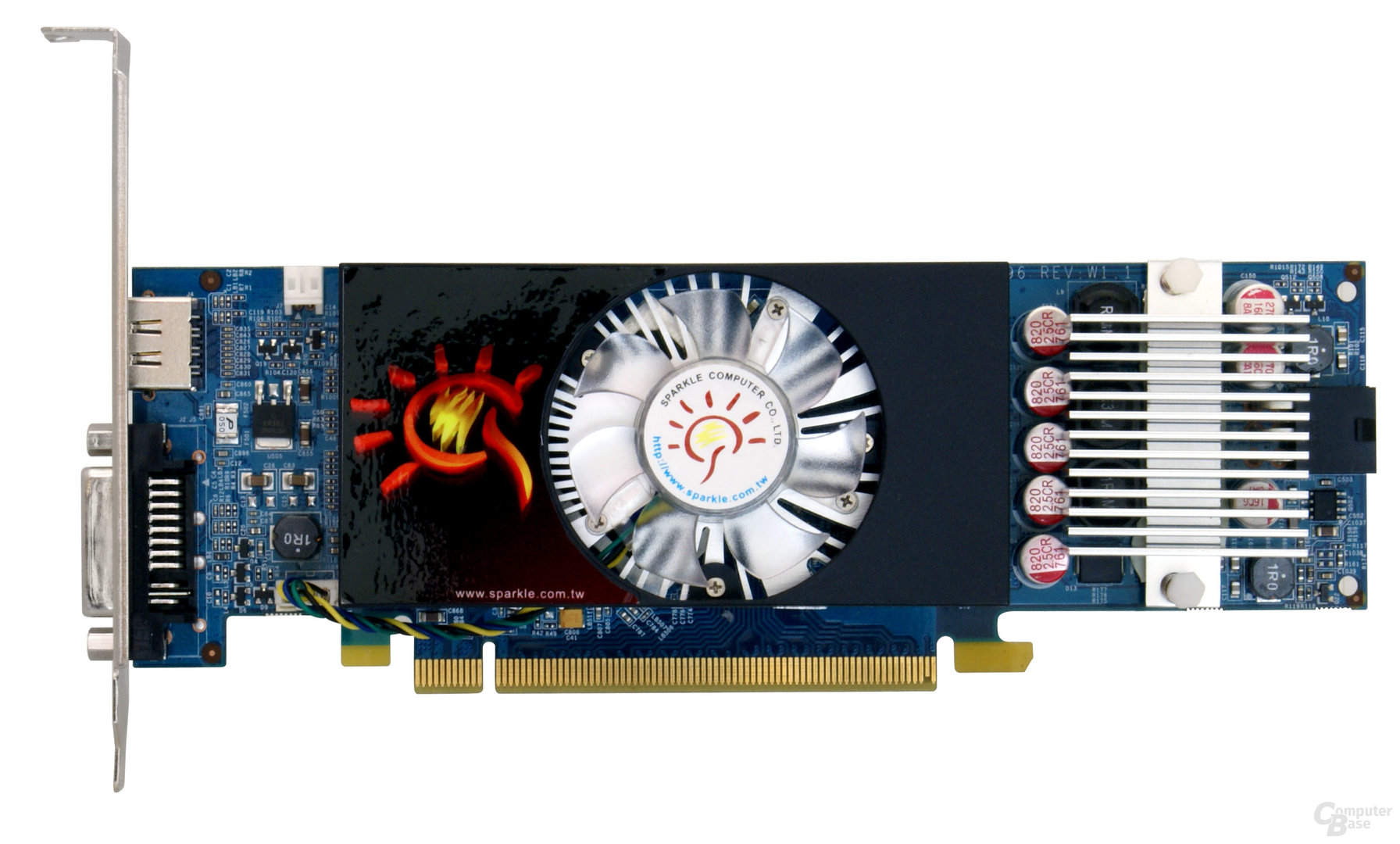 Sparkle GeForce GTS 250 Low Profile