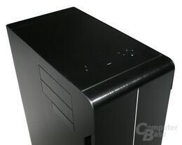Lian Li TYR Super-Case PC-X2000BW – Port-Kit geschlossen