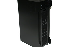 Lian Li TYR Super-Case PC-X2000BW – demontierte Front