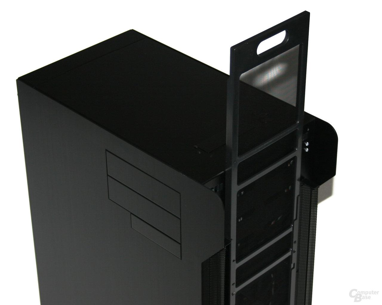 Lian Li TYR Super-Case PC-X2000BW – herausnehmbarer Staubfilter