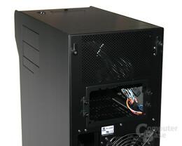 Lian Li TYR Super-Case PC-X2000BW – Netzteilbefestigung