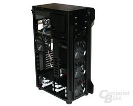 Lian Li TYR Super-Case PC-X2000BW – Innenansicht hinten