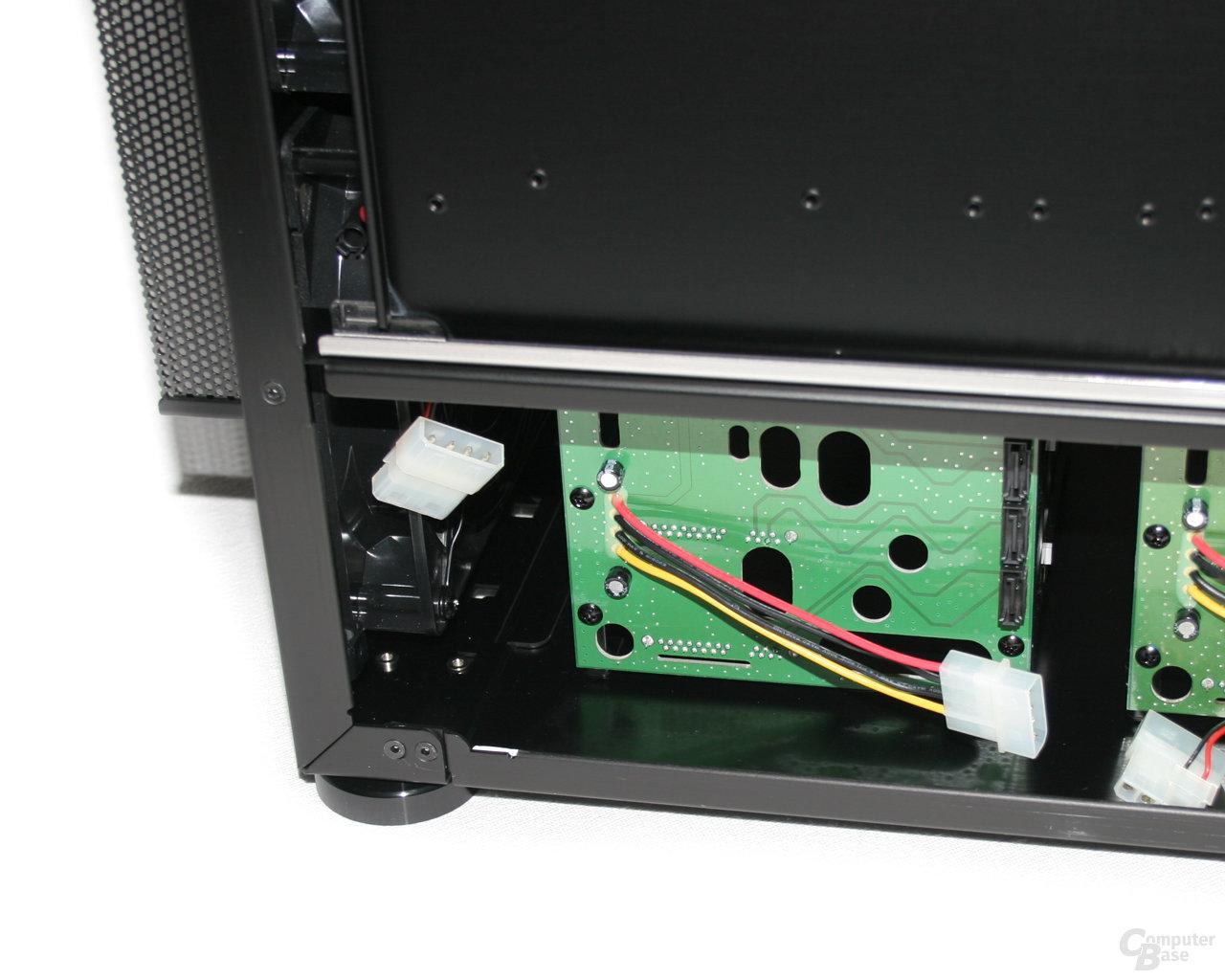 Lian Li TYR Super-Case PC-X2000BW – Anschluss Wechselrahmen