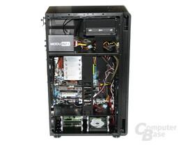 Lian Li TYR Super-Case PC-X2000BW – Innenraum mit Hardware