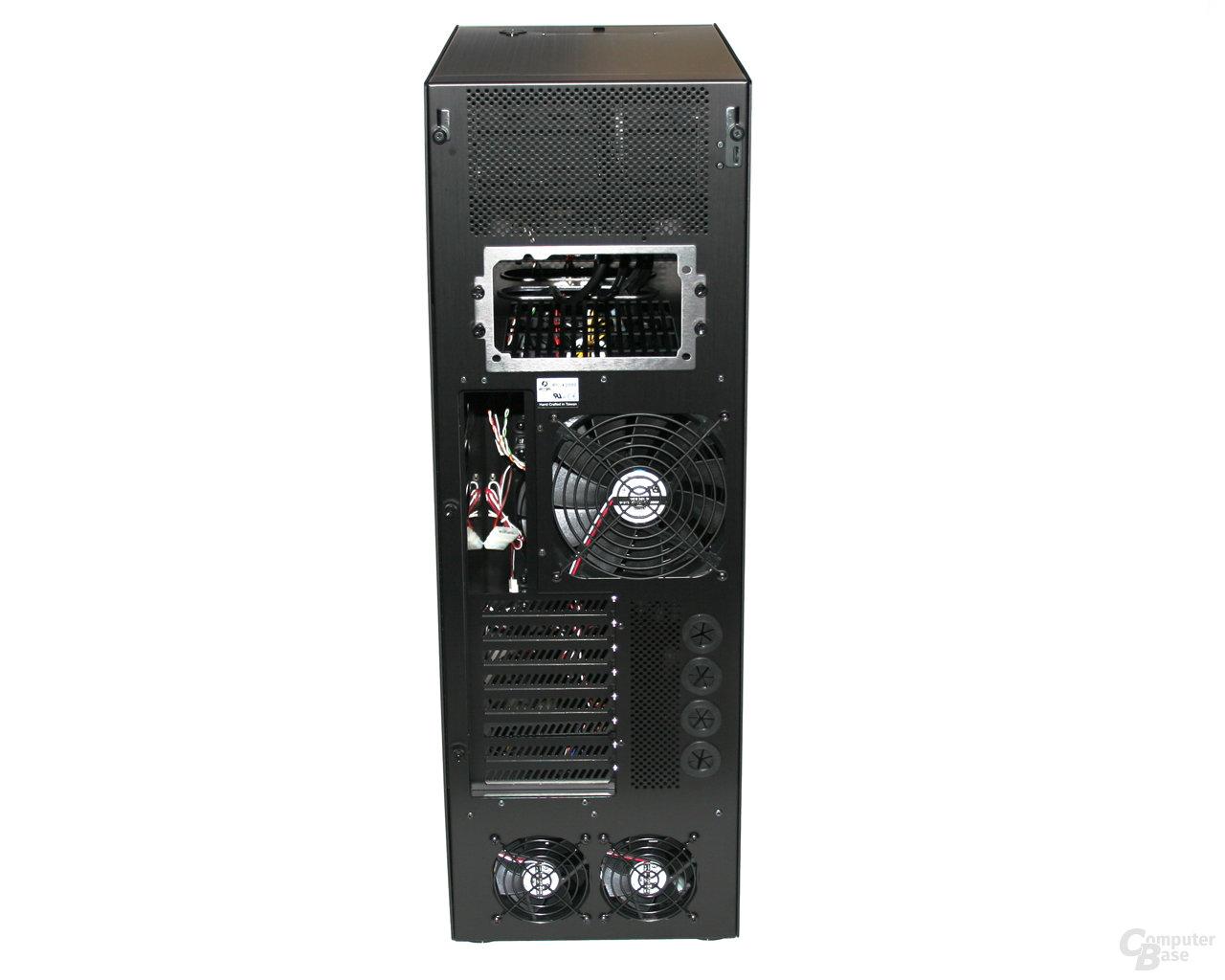 Lian Li TYR Super-Case PC-X2000BW – Rückseite