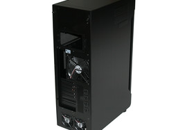Lian Li TYR Super-Case PC-X2000BW – Rückseite links